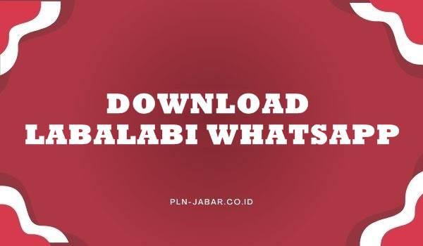 Download Labalabi For Whatsapp
