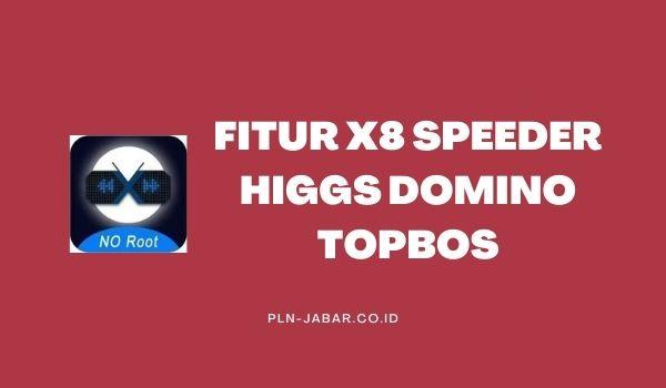 Fitur X8 Speeder Higgs Domino Topbos